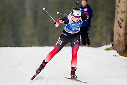Synnoeve Solemdal (NOR) during Women 15km Individual at day 5 of IBU Biathlon World Cup 2018/19 Pokljuka, on December 6, 2018 in Rudno polje, Pokljuka, Pokljuka, Slovenia. Photo by Ziga Zupan / Sportida
