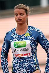 DafneSchippersof Netherlands in action on the 100 meter during FBK Games 2021 on 06 june 2021 in Hengelo.