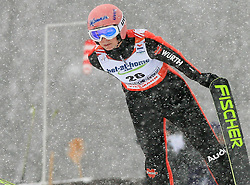 Jenna Mohr of Germany at Ski Jumping ladies Normal Hill Individual of FIS Nordic World Ski Championships Liberec 2008, on February 20, 2009, in Jested, Liberec, Czech Republic. (Photo by Vid Ponikvar / Sportida)