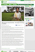 2013 07 02 Tearsheet Oxfam Australia The impact of mining on women Indonesia