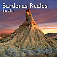 Photos of Bardenas Reales Natural Park, Spain. Pictures & Images