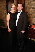 NO FEE PICTURES<br /> 9/11/14 Barry Flannagan and Sarah Kelly, Dunleer at the Tiny Hearts fundraising ball in aid of Heart Children Ireland at Darver Castle in County Louth. Picture:Arthur Carron