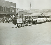 1927 C.E. Toberman's entry in the Old Settlers' Day Parade