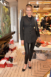 PRISCILLA WATERS at a breakfast at Roger Vivier, 188 Sloane Street to view the SS2014 Roger Vivier collections held on 20th March 2014.