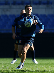 February 8, 2019 - Rome, Italy - Italy captain's run - Rugby Guinness Six Nations .Italy rugby team training captain's run in view of the match versus Wales. Tommaso Allan at Olimpico Stadium in Rome, Italy on February 8, 2019. (Credit Image: © Matteo Ciambelli/NurPhoto via ZUMA Press)