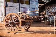 Old wooden cart (Myanmar)