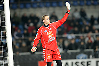 FOOTBALL - FRENCH CUP 2009/2010 - RC STRASBOURG v OLYMPIQUE LYONNAIS - 09/01/2010 - PHOTO GUILLAUME RAMON / DPPI -  <br /> REGIS GURTNER (RCS GOAL)
