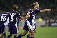 Fotball<br /> Foto: Photonews/Digitalsport<br /> NORWAY ONLY<br /> <br /> FOOTBALL - CHAMPIONS LEAGUE 2006/2007 - 1ST ROUND - AEK ATHEN / ATEN  V ANDERLECHT - 26/09/2006<br /> <br /> NICOLAS FRUTOS