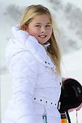 Fotosessie met de koninklijke familie in Lech /// Photoshoot with the Dutch royal family in Lech .<br /> <br /> Op de foto / On the photo:  Prinses Amalia / Princess Amalia
