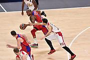 DESCRIZIONE : Madrid Eurolega Euroleague 2014-15 Final Four Semifinal Semifinale Cska Moscow Olympiacos Piraeus Athens Cska Mosca Olympiacos Atene <br /> GIOCATORE : Aaron Jackson<br /> SQUADRA : CSKA Mosca<br /> CATEGORIA : palleggio sequenza<br /> EVENTO : Eurolega 2014-2015<br /> GARA : Cska Mosca Olympiacos Atene<br /> DATA : 15/05/2015<br /> SPORT : Pallacanestro<br /> AUTORE : Agenzia Ciamillo-Castoria/GiulioCiamillo<br /> Galleria : Eurolega 2014-2015<br /> DESCRIZIONE : Madrid Eurolega Euroleague 2014-15 Final Four Semifinal Semifinale Cska Moscow Olympiacos Piraeus Athens Cska Mosca Olympiacos