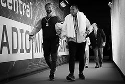May 9, 2019 - Madrid, MADRID, SPAIN - Jiri Vanek on his way to the court at the 2019 Mutua Madrid Open WTA Premier Mandatory tennis tournament (Credit Image: © AFP7 via ZUMA Wire)
