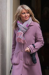 London, March 3rd 2015. Members of the cabinet arrive at 10 Downing Street for their weekly meeting. PICTURED: Minister of State for Employment Esther McVey.