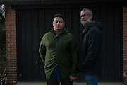 COLUMBIA, MD -- 12/20/14 -- Mark Johnson-Lewis, 48, and his son, Tyler Lewis, 22, talk about the complexity of being a biracial family..…by André Chung #_AC23132