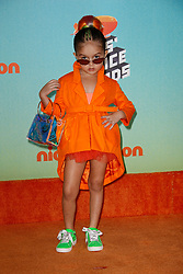 March 23, 2019 - Los Angeles, CA, USA - LOS ANGELES, CA - MARCH 23: Taylen Biggs attends Nickelodeon's 2019 Kids' Choice Awards at Galen Center on March 23, 2019 in Los Angeles, California. Photo: CraSH for imageSPACE (Credit Image: © Imagespace via ZUMA Wire)