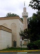 Fallas Church , VA   Overall of the  Dar Al-Hijrah Mosque in Falls Church, VA.  photo by Dennis Brack