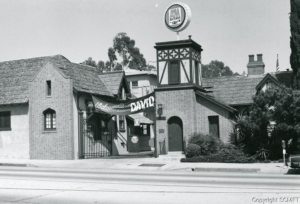 1979 A&M Records, formerly Chaplin Studios on La Brea Ave.