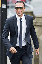 © Licensed to London News Pictures . 30/05/2015 . Manchester , UK . Chris Bisson arriving . A public memorial for Coronation Street actress Anne Kirkbride at Manchester Cathedral , who died on 19th January 2015 . Photo credit : Joel Goodman/LNP