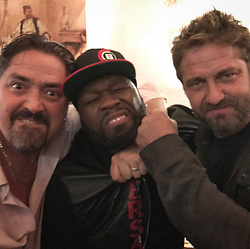 """50 Cent releases a photo on Instagram with the following caption: """"Damn ya can't trust nobody these days. LOL#denofthieves JAN 19 in theaters everywhere."""". Photo Credit: Instagram *** No USA Distribution *** For Editorial Use Only *** Not to be Published in Books or Photo Books ***  Please note: Fees charged by the agency are for the agency's services only, and do not, nor are they intended to, convey to the user any ownership of Copyright or License in the material. The agency does not claim any ownership including but not limited to Copyright or License in the attached material. By publishing this material you expressly agree to indemnify and to hold the agency and its directors, shareholders and employees harmless from any loss, claims, damages, demands, expenses (including legal fees), or any causes of action or allegation against the agency arising out of or connected in any way with publication of the material."""