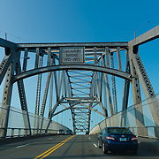 Cars on Sagamore Bridge, Cape Cod, Massachusetts