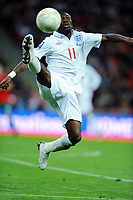 Shaun Wright Phillips<br /> England 2009/10<br /> England V Belarus (3-0) 14/10/09 <br /> Fifa World Cup Qualifier<br /> Photo Robin Parker Fotosports International