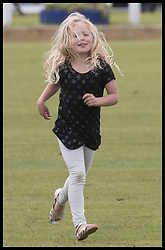 June 11, 2017 - Westonbirt, United Kingdom - Image licensed to i-Images Picture Agency. 11/06/2017. Westonbirt, United Kingdom. The Queen's first great-grandchild Savannah Phillips at the Gloucestershire Festival of Polo at Beaufort Polo Club in Westonbirt, Gloucestershire, United Kingdom. Picture by Stephen Lock / i-Images (Credit Image: © Stephen Lock/i-Images via ZUMA Press)