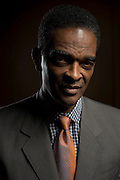 Ralph Sampson during the Naismith Memorial 2014 Basketball Hall of Fame Class Announcement at the Omni Hotel in Dallas, Texas on April 7, 2014. (Cooper Neill)