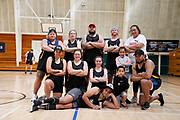 2020 South Island Masters Games<br /> NETBALL INDOOR<br /> Timaru<br /> Photo KEVIN CLARKE ANZIPP CMG SPORT ACTION IMAGES<br /> 10/10/2020<br /> ©cmgsport2020