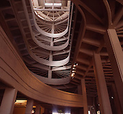 Torino la rampa che porta al tetto dello stabilimento Fiat Lingotto