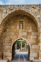 Old Souk Byblos Jbeil in Lebanon Middle east