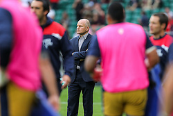 Bristol Rugby Director of Rugby Andy Robinson oversees the warmuo - Rogan Thomson/JMP - 03/09/2016 - RUGBY UNION - Twickenham Stadium - London, England - Harlequins v Bristol Rugby - Aviva Premiership London Double Header.