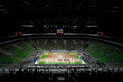 Arena during friendly basketball match between National teams of Slovenia and Montenegro of Adecco Ex-Yu Cup 2011 as part of exhibition games before European Championship Lithuania 2011, on August 7, 2011, in Arena Stozice, Ljubljana, Slovenia. Slovenia defeated Crna Gora 86-79. (Photo by Vid Ponikvar / Sportida)