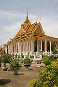 Silver Pagoda, Royal Palace, Phnom Penh, Cambodia