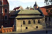 Dom Jana Dlugosza u zbiegu ulicy Kanoniczej i Podzamcza, Krakow<br /> House of Jan Dlugosz at Kanonicza and Podzamcze Street, Cracow