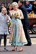 Koningsdag 2019 in Amersfoort / Kingsday 2019 in Amersfoort.<br /> <br /> Op de foto: Prinses Laurentien