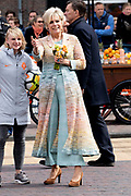 Koningsdag 2019 in Amersfoort / Kingsday 2019 in Amersfoort.<br /> <br /> Op de foto: Prinses Laurentien