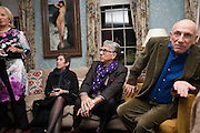 BETH DE WOODY; FIROOZ ZAHEDI; BRIAN CLARKE, Dinner to celebrate the opening of Pace London at  members club 6 Burlington Gdns. The dinner followed the Private View of the exhibition Rothko/Sugimoto: Dark Paintings and Seascapes.