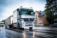 DEU, Germany, Herne, a Mercedes-Benz Actros truck.<br /> <br /> DEU, Deutschland, Herne, ein Mercedes-Benz Actros LKW.
