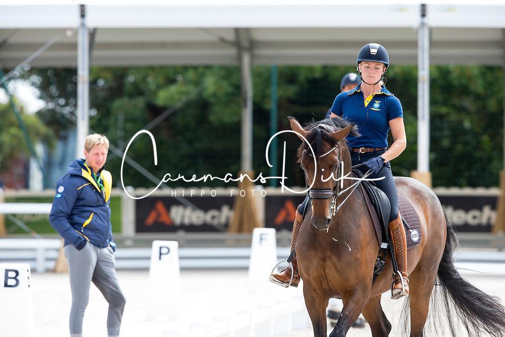 Högberg Jeanna, (SWE), Darcia - Kittel Patrik, (SWE)<br /> Alltech FEI World Equestrian Games™ 2014 - Normandy, France.<br /> © Hippo Foto Team - Leanjo de Koster<br /> 25/06/14