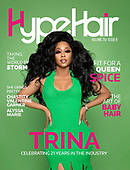 August 18, 2021 - USA: Trina Covers Hype Hair Volume 29/Issue 8