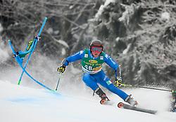 Giulio Giovanni Bosca of Italy competes during 1st run of Men's GiantSlalom race of FIS Alpine Ski World Cup 57th Vitranc Cup 2018, on March 3, 2018 in Kranjska Gora, Slovenia. Photo by Ziga Zupan / Sportida