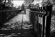 Maidenhead, Berkshire, United Kingdom, Monday, 04/10/2021, General View, Taplow Pedestration Bridge, Ray Mill Island,  River Thames, Thames Valley, [Mandatory Credit; Pete Spurrier],