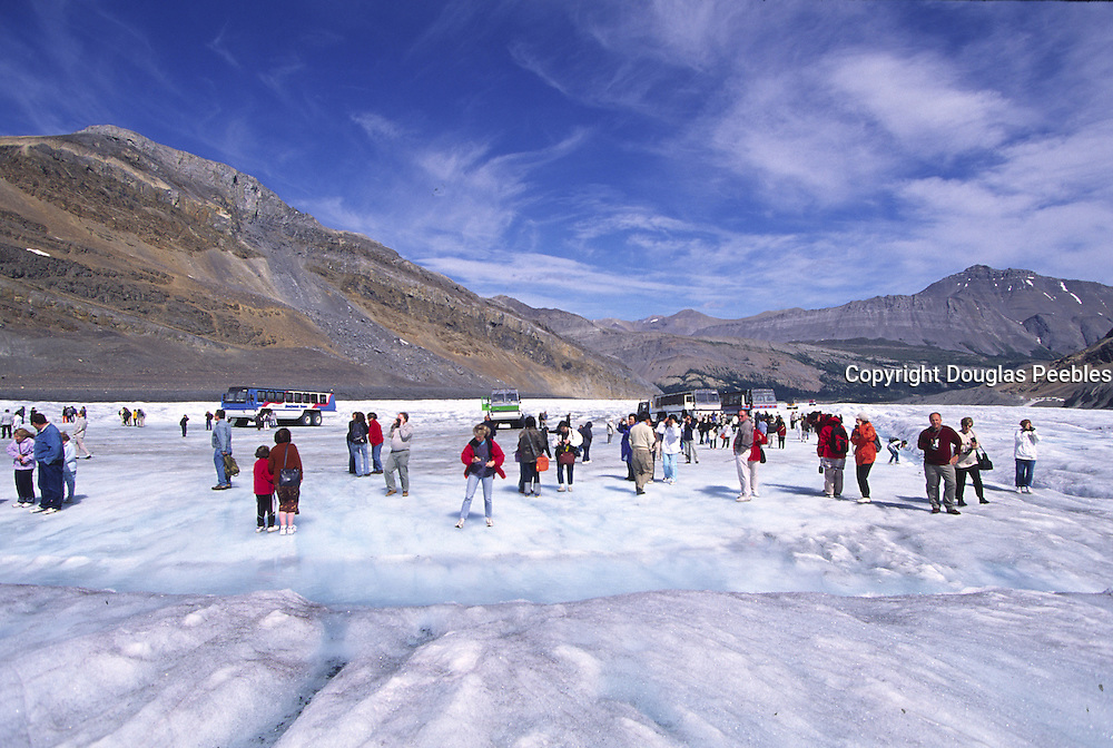 Athabasca Glacier, Icefield Parkway, Jasper National Park, Canada<br />