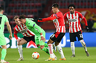 Vitor Gomes of Omonia Nicosia, Joel Piroe of PSV Eindhoven during the UEFA Europa League, Group E football match between PSV and Omonia Nicosia on December 10, 2020 at Philips Stadion in Eindhoven, Netherlands - Photo Perry vd Leuvert / Orange Pictures / ProSportsImages / DPPI