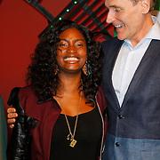 NLD/Scheveningen/20121030 - Uitreiking Talent voor Taal 2012 prijs, Zarayda Groenhart en Arthur Japin