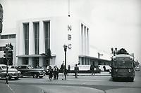 1943 NBC Radio at Sunset Blvd & Vine St