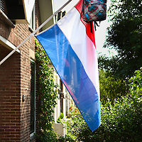 Nederland, Amsterdam ,12 JUNI 2014 <br /> Woning van geslaagde middelbare  eindexamen kandidaat in de Stoombootweg in Noord.<br /> Foto:Jean-Pierre Jans