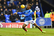 Jamal Lowe (10) of Portsmouth during the EFL Sky Bet League 1 match between Portsmouth and AFC Wimbledon at Fratton Park, Portsmouth, England on 1 January 2019.