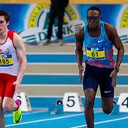 NLD/Apeldoorn/20180217 - NK Indoor Athletiek 2018, 60 meter heren, Roeland Heitkonig en Liemarvin Bonevacia