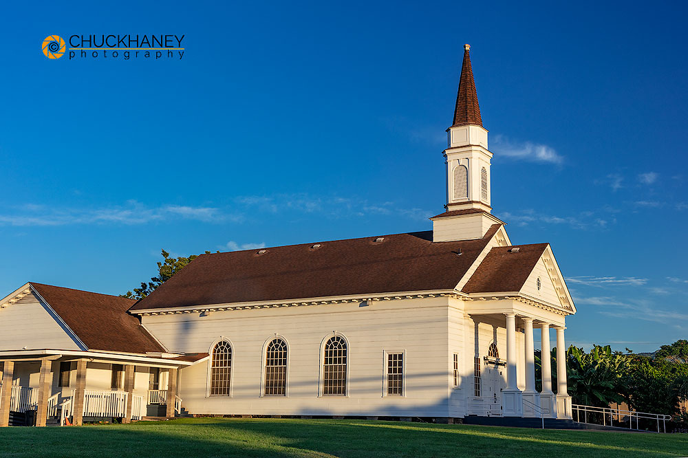 Historic Old Koloa Church in Kauai, Hawaii, USA