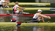 2006 FISA World Cup, Lucerne, SWITZERLAND, 08.07.2006. USA W1X  Michelle GUERETTE, Photo  Peter Spurrier/Intersport Images email images@intersport-images.com....[Mandatory Credit Peter Spurrier/Intersport Images... Rowing Course, Lake Rottsee, Lucerne, SWITZERLAND.